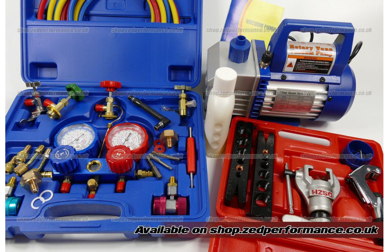 R407f R448a R449a aircon charging tool kit