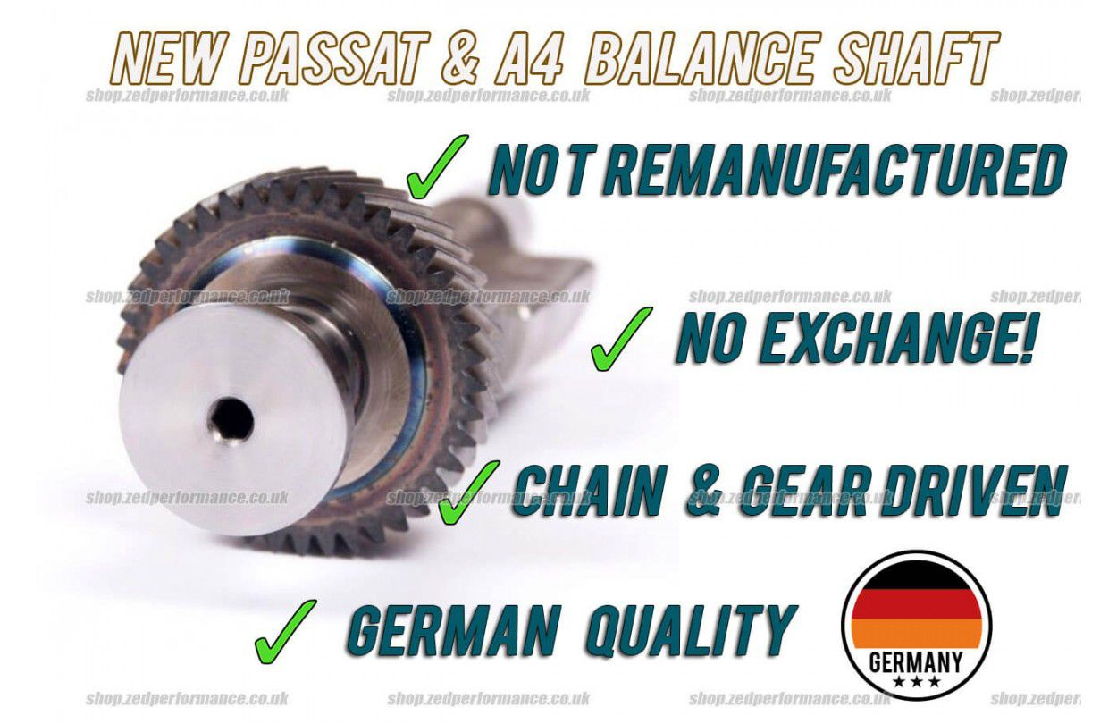 VW Passat & Audi A4 2 0TDI balance shaft